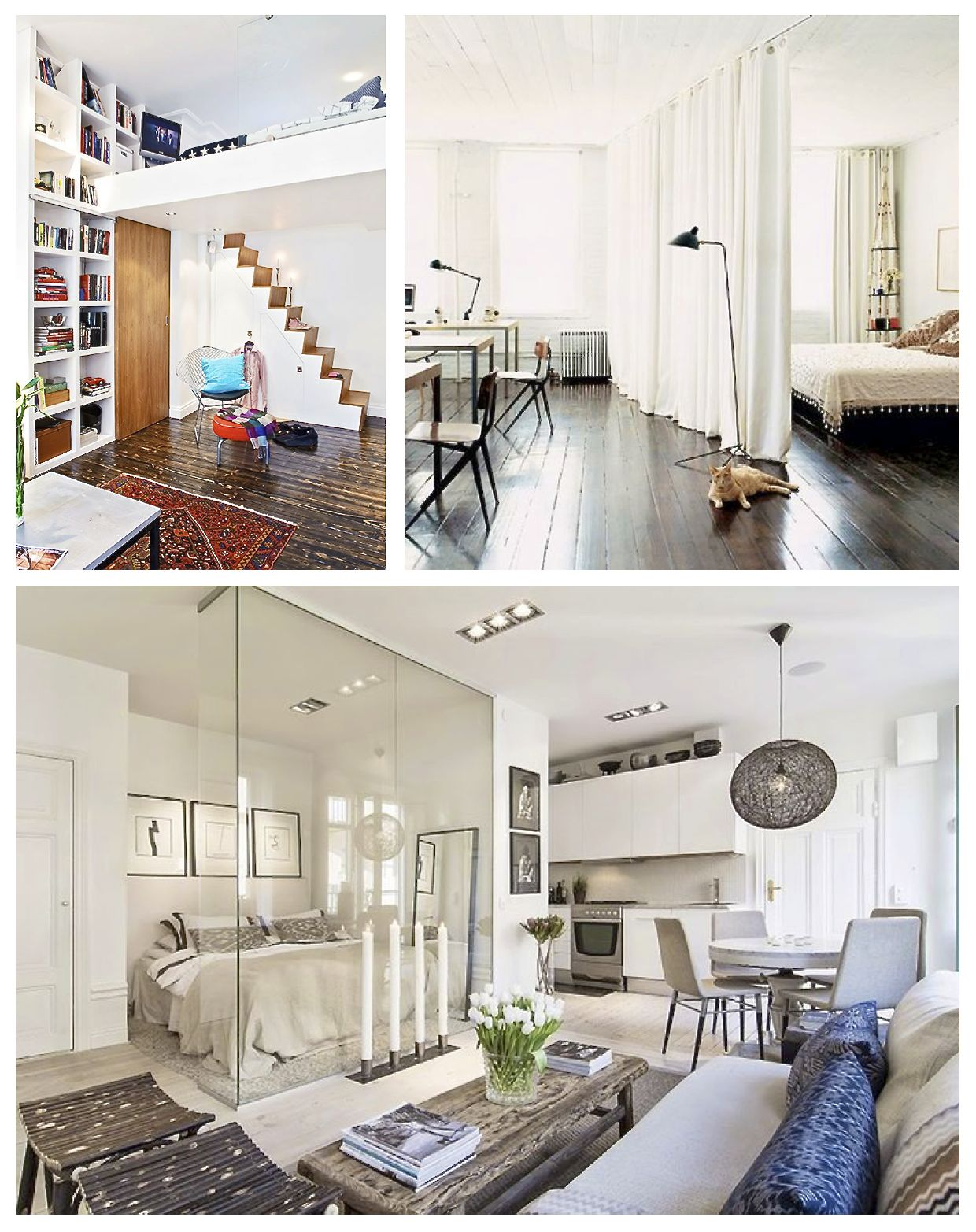 11 Brilliant Studio Apartment Ideas