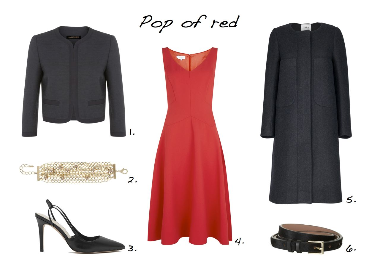 steal of the day Jaeger Bouclé Jacket Reiss Amelie Slingback Court Shoes Hobbs Invitation Sidonie Dress Issa Percy Charcoal Grey Coat