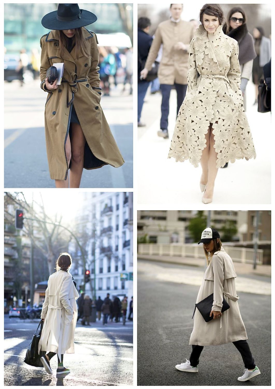 trench coat street style how to wear trench coats