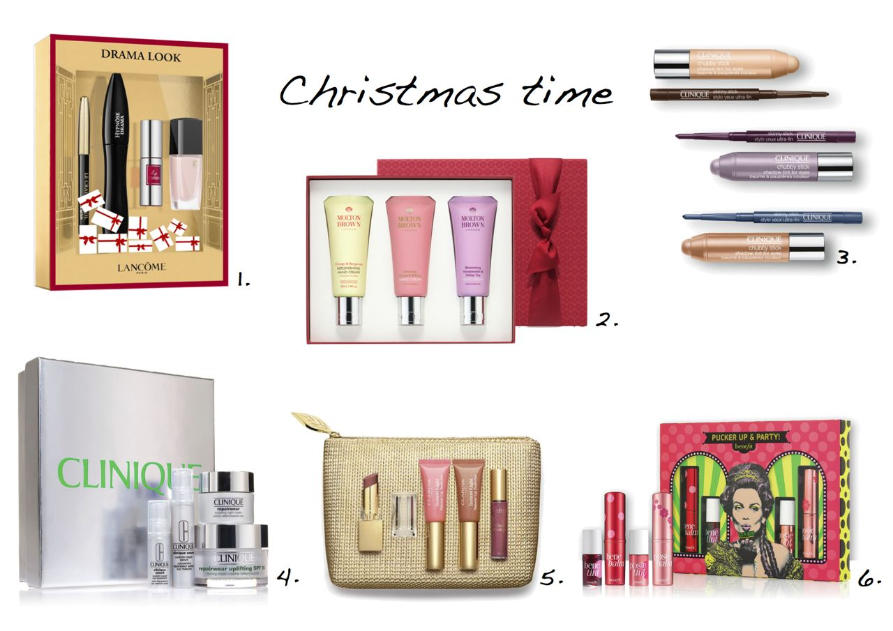 christmas beauty gift sets 2015 lancome christmas gift set clinique christmas gift set benefit holiday set - Best Christmas Gifts For 2015