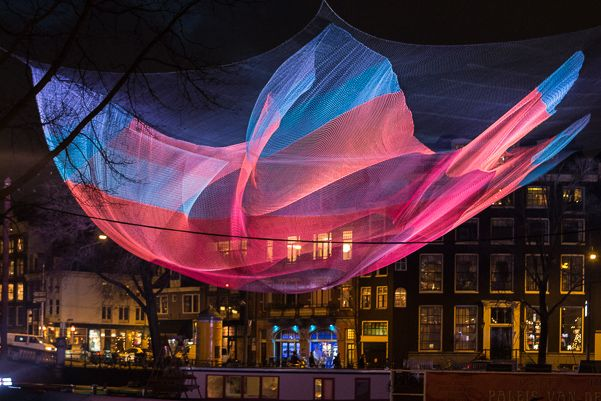 what to do in Amsterdam Amsterdam light festival