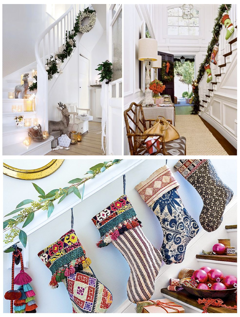 Christmas hallway decorating ideas christmas lights card How to decorate your hallway for christmas