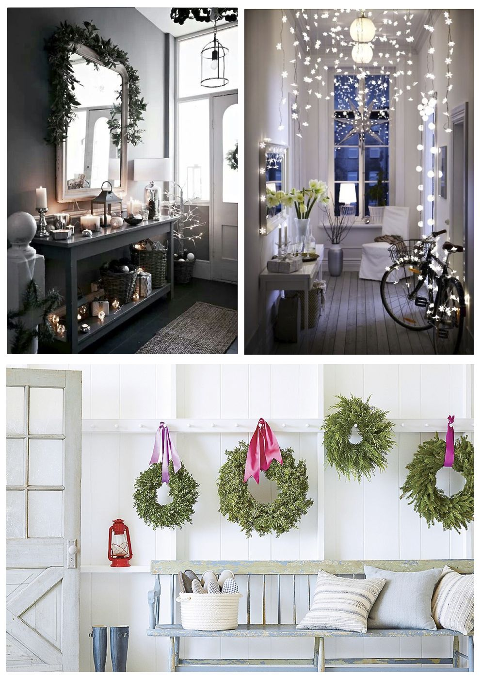 christmas hallway ideas christmas hallway decorations - Christmas Hallway Decorating Ideas