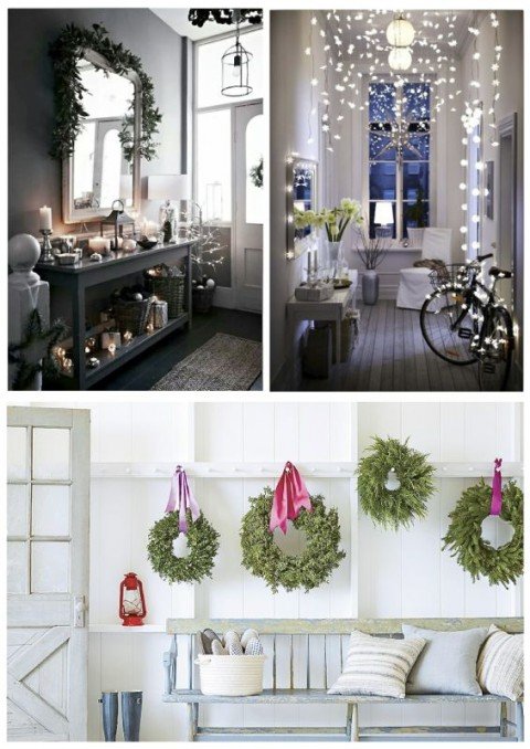 Home style barista How to decorate your hallway for christmas