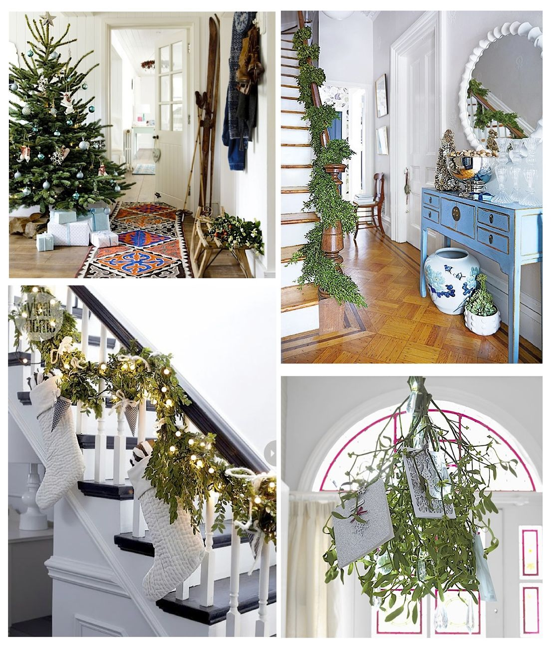 Get Your Home Ready With These 14 Christmas Hallway Ideas - Style ...
