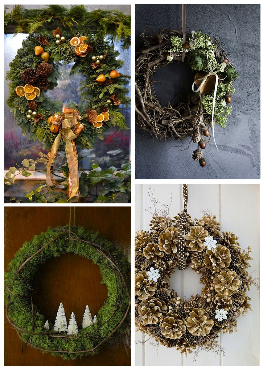 Christmas wreath ideas Christmas wreath inspiration