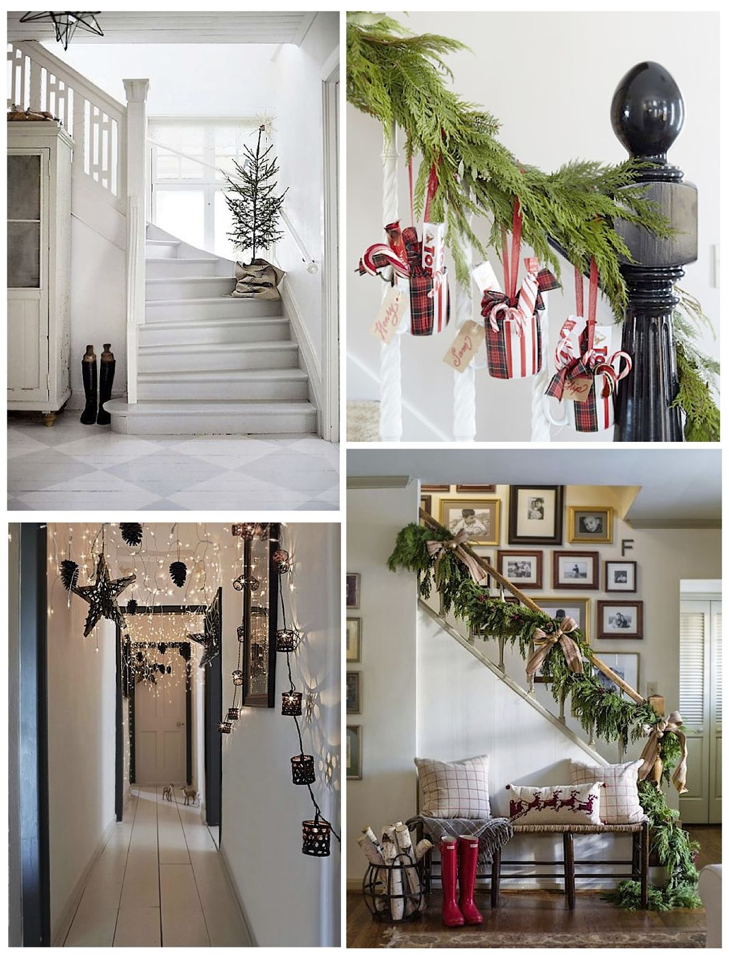Decorate Your Home For Christmas get your home ready with these 14 christmas hallway ideas - style