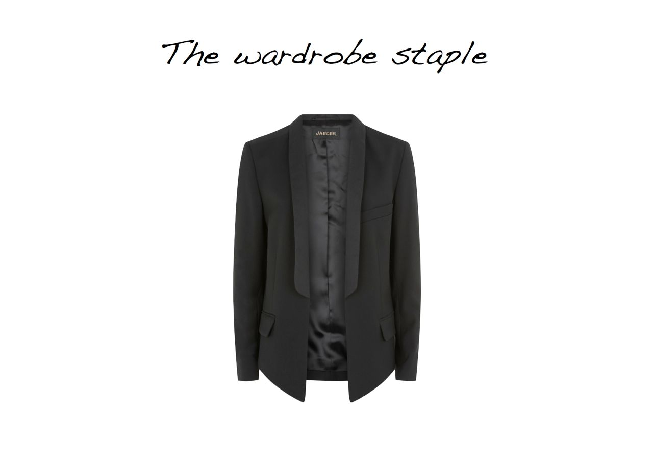 Steal Of The Day Jaeger Contemporary Tailoring Jacket