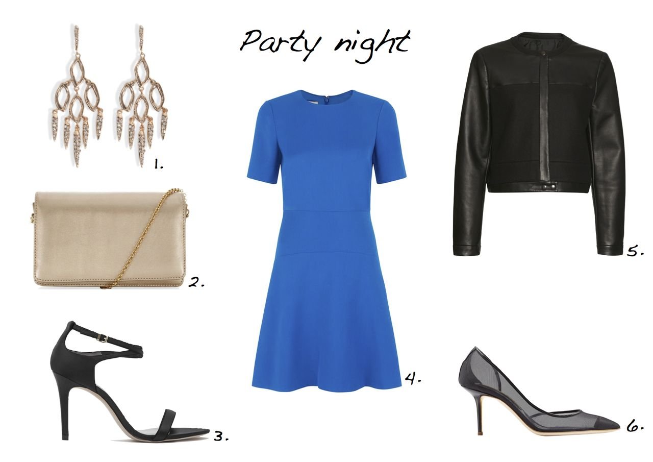 Steal of the day Rupert Sanderson Numa Mesh Pumps Hobbs Eve Clutch Reiss Gelda Strappy Piped Sandals Hobbs Dariella Dress  Jaeger Leather and Melton Jacket