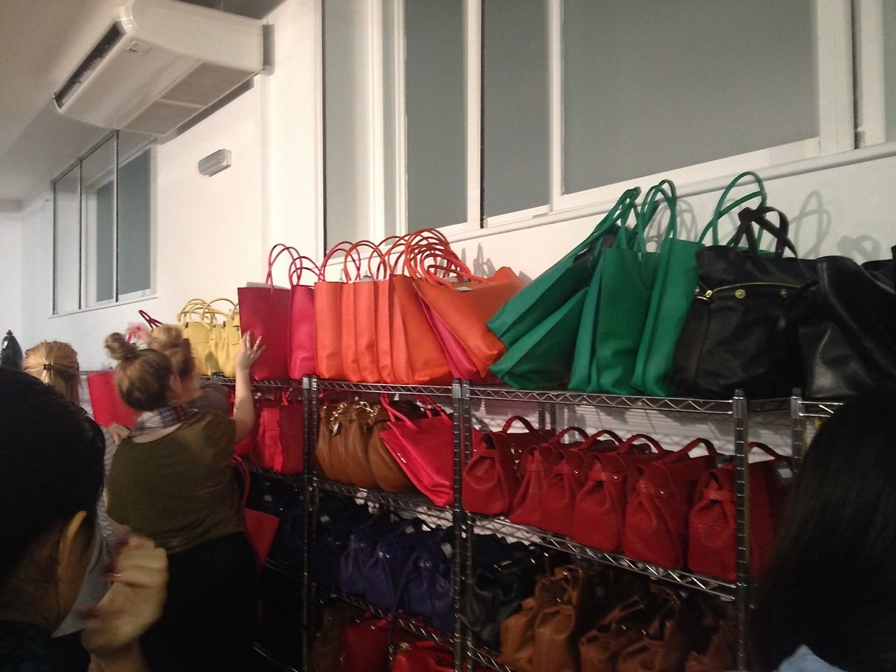 Style Barista Mulberry sample sale November 2015