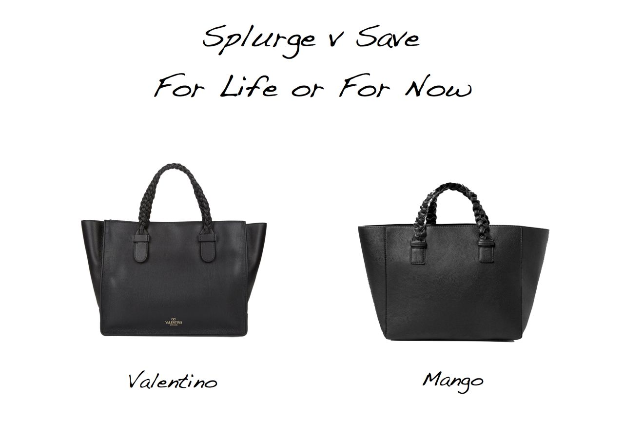 Valentino with braided handles bag Valentino To Be Cool tote look for less Valentino bag lookalike