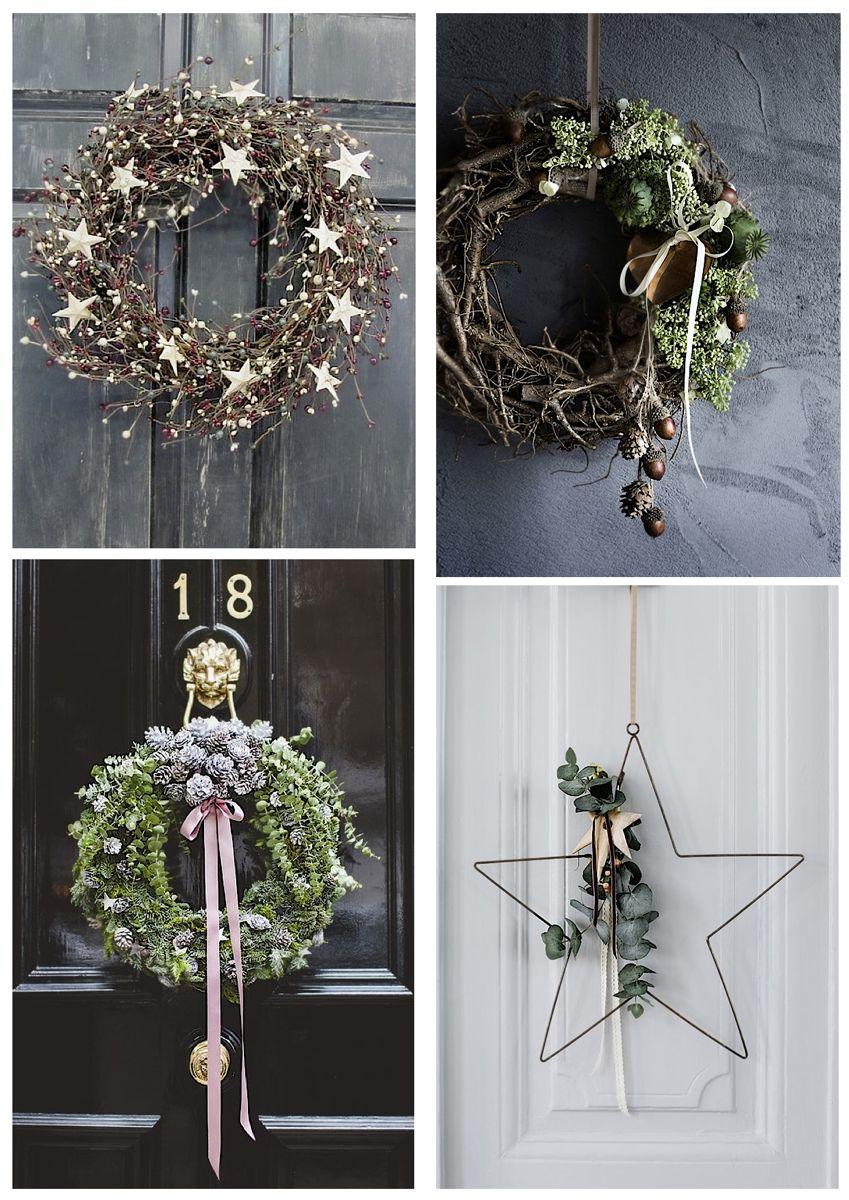 holiday wreath ideas Christmas wreath ideas