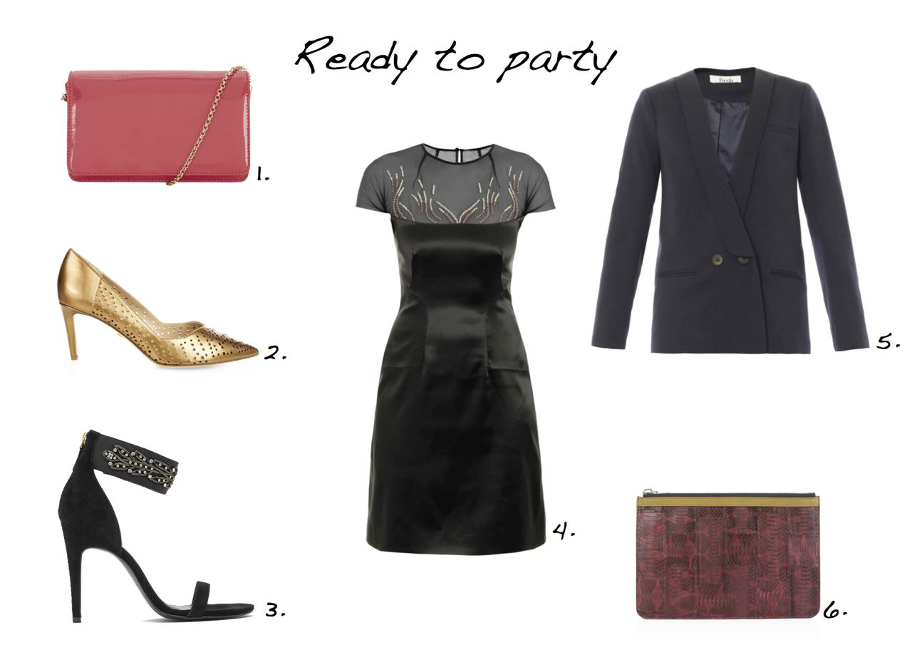 steal of the day Marios Schwab Embroidered Stretch-Satin Dress Reiss Albemarle Embellished Heeled Sandals Freda Cara Double-Breasted Wool-Crepe Blazer