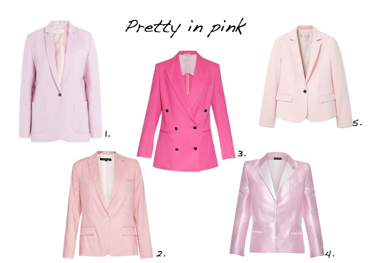 pink jackets Style Barista