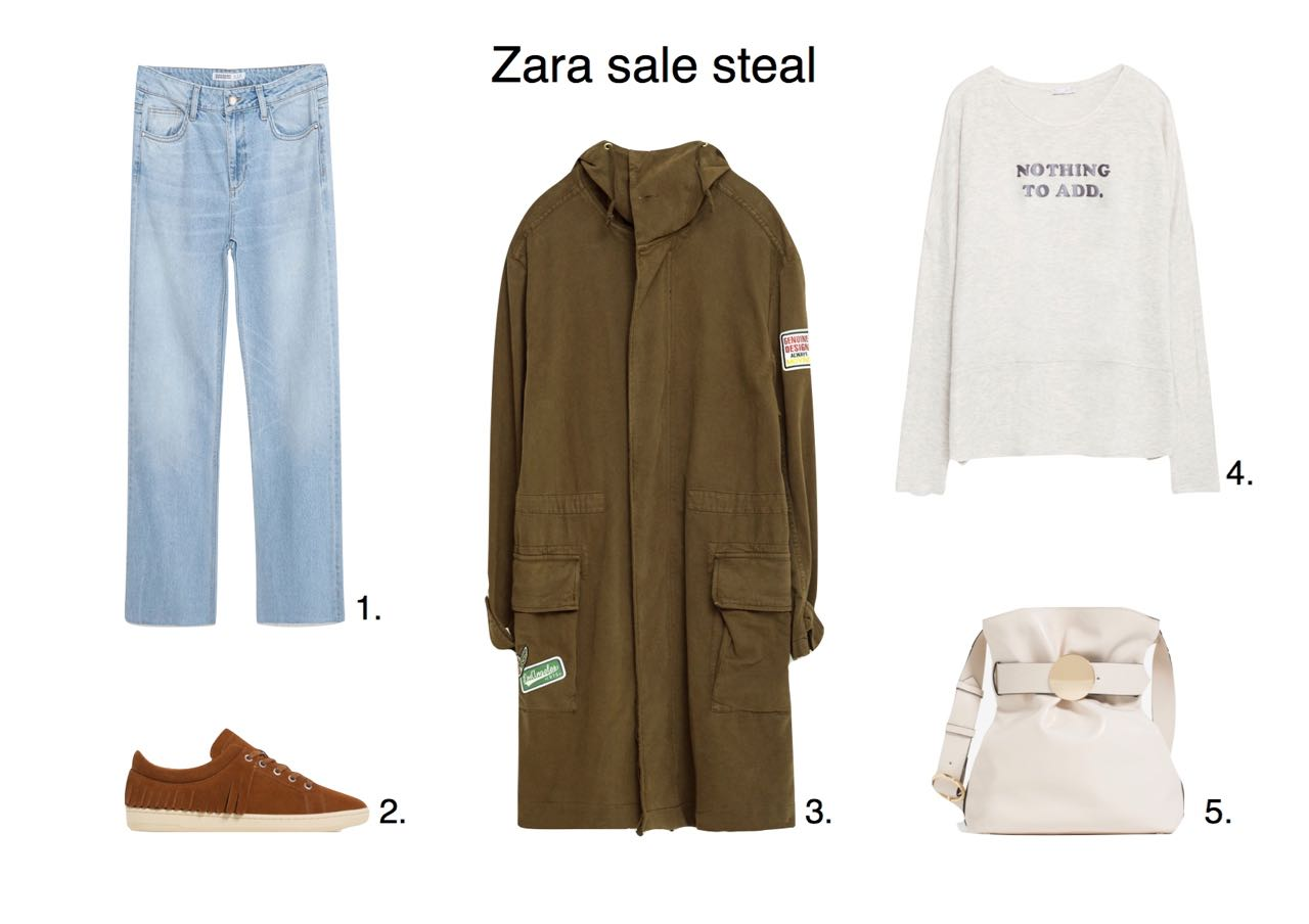 Steal Of The Day Zara sale steals Zara Fringed Leather Plimsolls