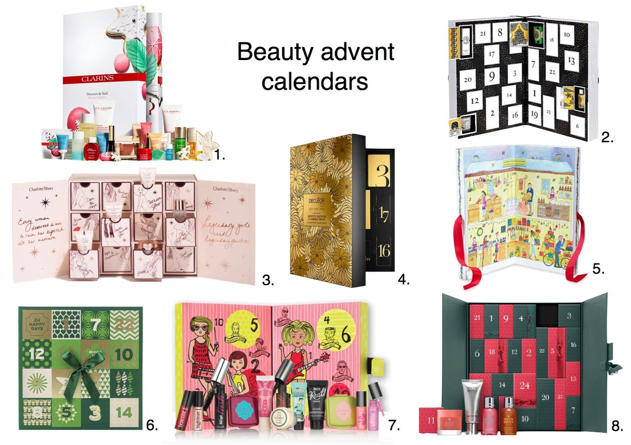 beauty-advent-calendars-2016-clarins-advent-calendar-makeup-gift-set-diptyque-advent-calendar-2016-charlotte-tilbury-world-of-legendary-parties-1