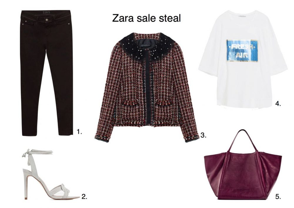 Steal Of The Day 16 Zara Sale Bargains Style Barista