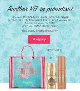 BENEFIT FREE GIFT WITH PURCHASE